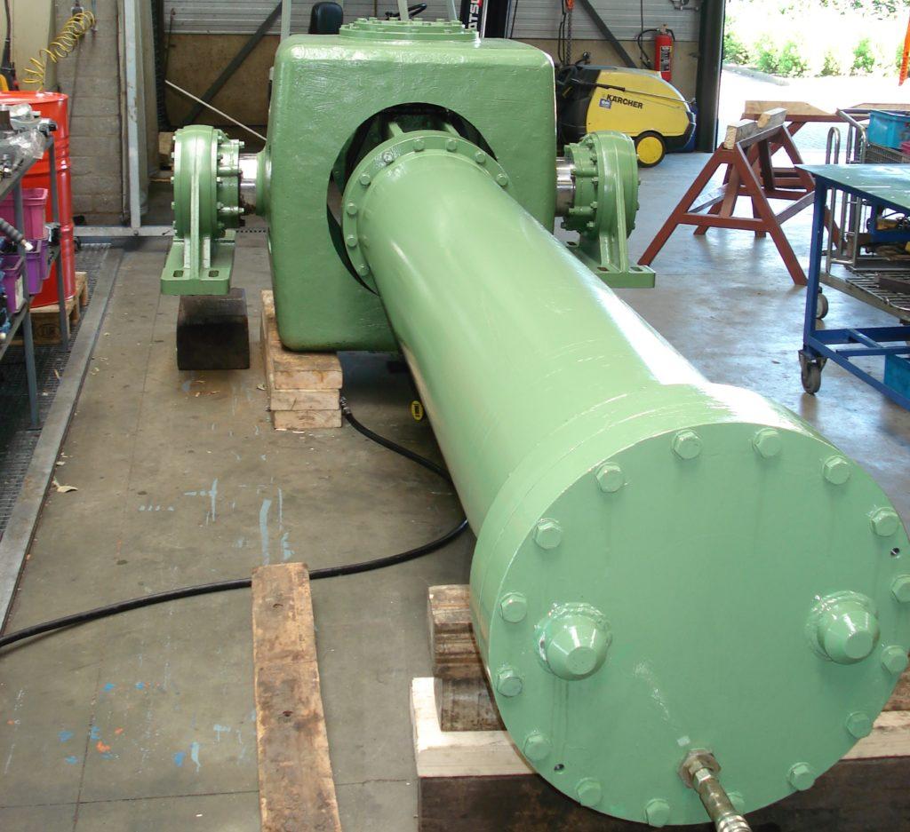 hydropnuemotion hydrauliek cilinder revisie sluis deur