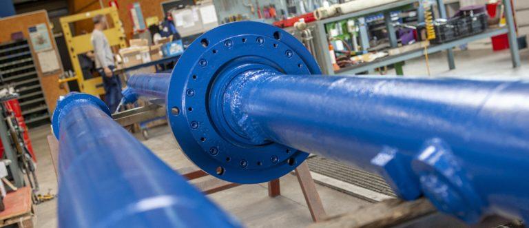 hydropneumotion werkplaats revisie hydrauliek cilinder