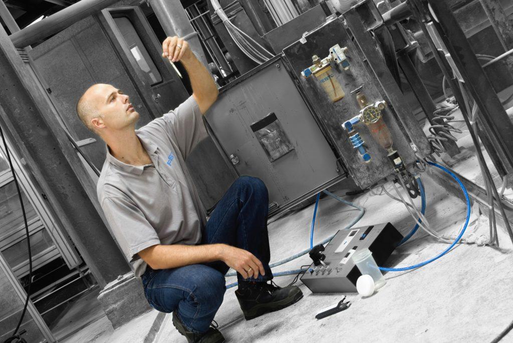 hydropneumotion festo Persluchtkwaliteitsanalyse