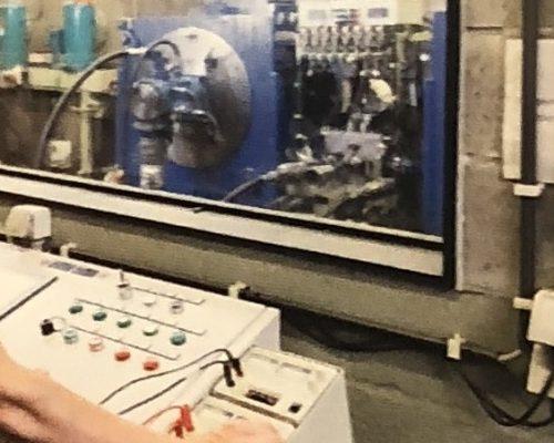 hydropneumotion hydrauliek pomp testen